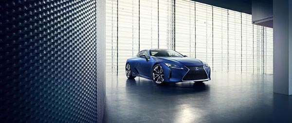 2017 Lexus LC 500h wide wallpaper thumbnail.
