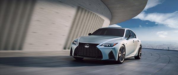 2021 Lexus IS wide wallpaper thumbnail.