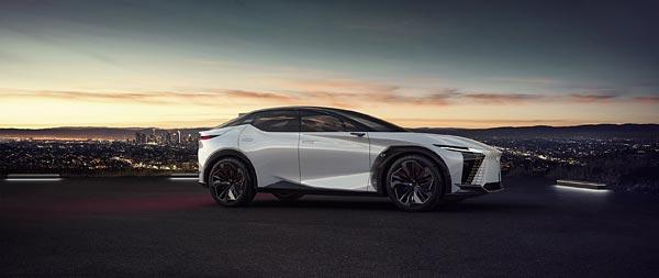 2021 Lexus LF-Z Electrified Concept wide wallpaper thumbnail.