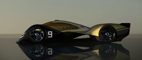 2021 Lotus E-R9 Concept wide wallpaper thumbnail.