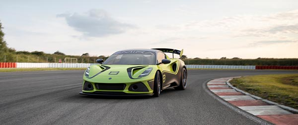 2021 Lotus Emira GT4 Concept wide wallpaper thumbnail.