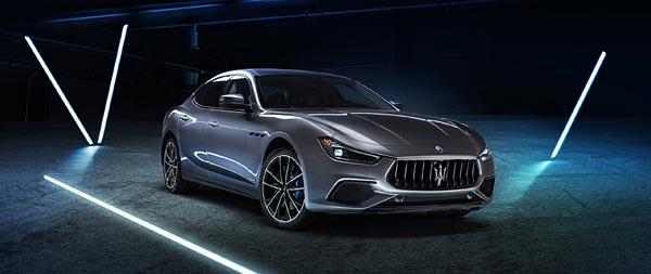 2021 Maserati Ghibli Hybrid wide wallpaper thumbnail.
