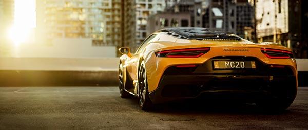 2021 Maserati MC20 wide wallpaper thumbnail.