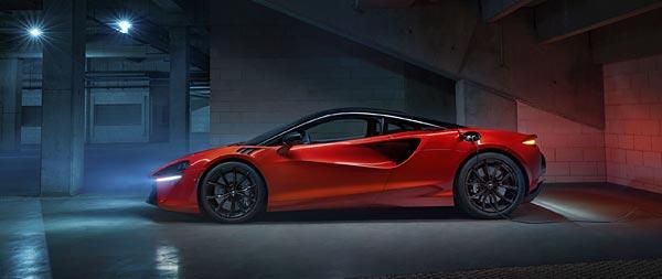 2022 McLaren Artura wide wallpaper thumbnail.