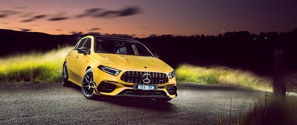 2020 Mercedes-AMG A45 wide wallpaper thumbnail.