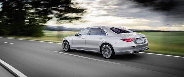 2021 Mercedes-Benz S-Class wide wallpaper thumbnail.