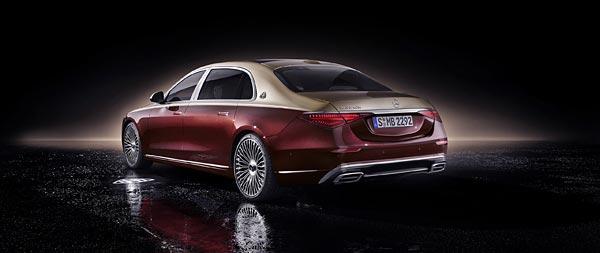 2021 Mercedes-Maybach S580 wide wallpaper thumbnail.