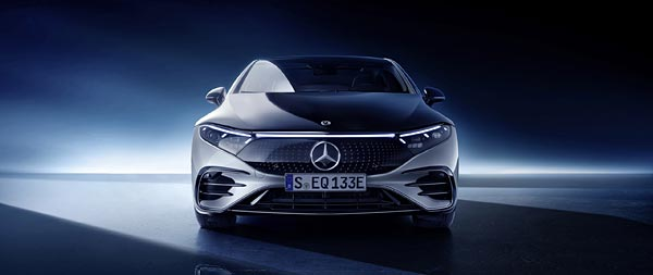 2022 Mercedes-Benz EQS wide wallpaper thumbnail.