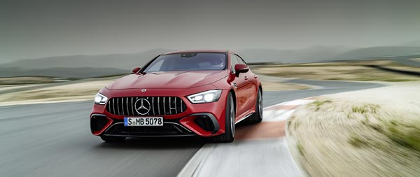 2023 Mercedes-AMG GT63 S E Performance 4-Door wide wallpaper thumbnail.