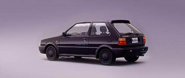 1989 Nissan March Super Turbo wide wallpaper thumbnail.