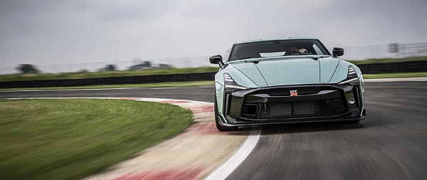 2021 Nissan GT-R50 by Italdesign wide wallpaper thumbnail.