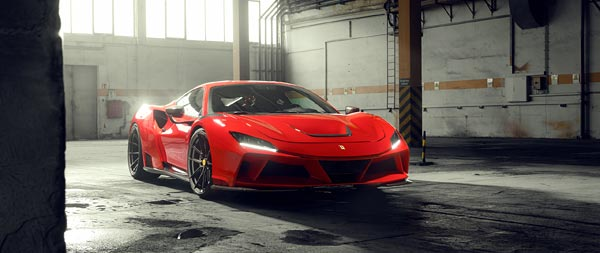 2021 Novitec Ferrari F8 Tributo N-Largo wide wallpaper thumbnail.