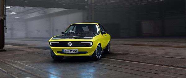 2021 Opel Manta GSe ElektroMOD  wide wallpaper thumbnail.