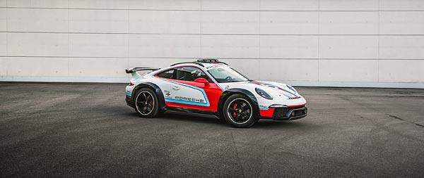 2012 Porsche 911 Vision Safari Concept wide wallpaper thumbnail.