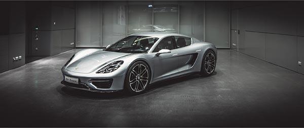 2016 Porsche 960 Vision Turismo Concept wide wallpaper thumbnail.