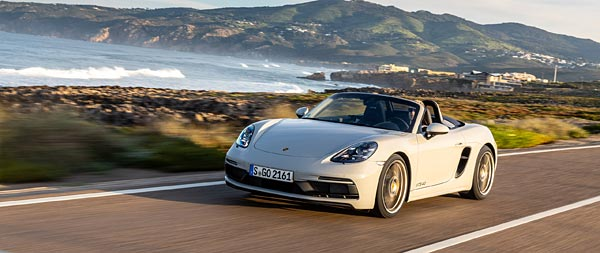 2020 Porsche 718 Boxster GTS 4.0 wide wallpaper thumbnail.