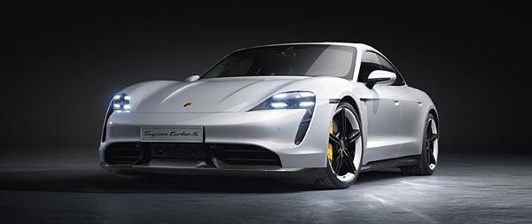 2020 Porsche Taycan Turbo wide wallpaper thumbnail.