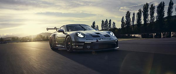 2021 Porsche 911 GT3 Cup wide wallpaper thumbnail.
