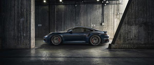 2021 Porsche 911 Turbo wide wallpaper thumbnail.