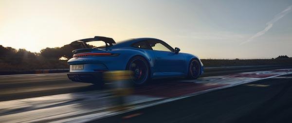 2022 Porsche 911 GT3 wide wallpaper thumbnail.