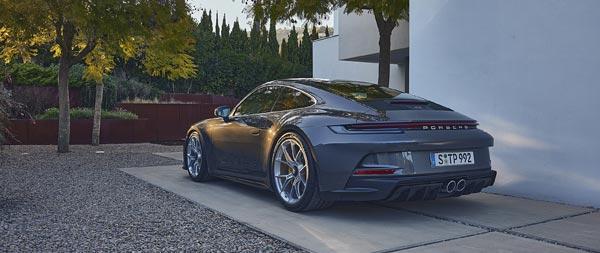 2022 Porsche 911 GT3 Touring wide wallpaper thumbnail.