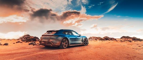 2021 Porsche Taycan 4S Cross Turismo wide wallpaper thumbnail.