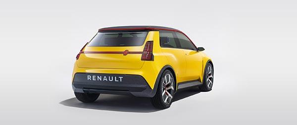 2021 Renault 5 Concept wide wallpaper thumbnail.