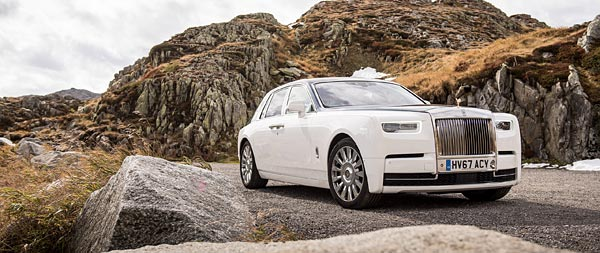 2017 Rolls-Royce Phantom wide wallpaper thumbnail.