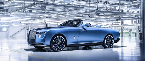 2021 Rolls-Royce Boat Tail wide wallpaper thumbnail.
