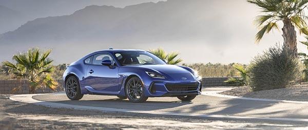 2022 Subaru BRZ wide wallpaper thumbnail.