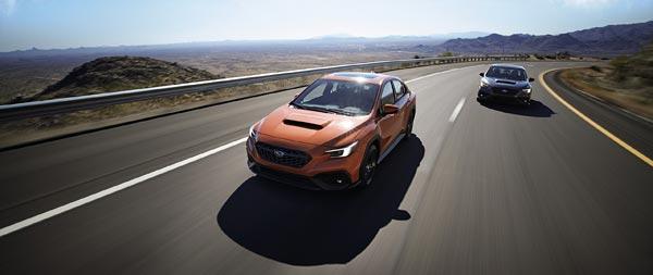 2022 Subaru WRX wide wallpaper thumbnail.