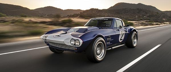 1963 Superformance Corvette Grand Sport Coupe wide wallpaper thumbnail.