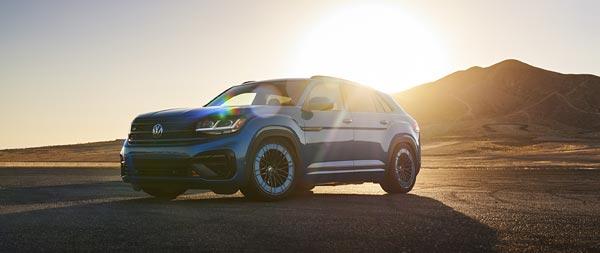 2021 Volkswagen Atlas Cross Sport GT Concept wide wallpaper thumbnail.