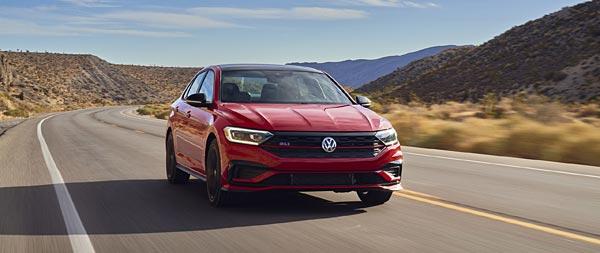 2021 Volkswagen Jetta GLI wide wallpaper thumbnail.