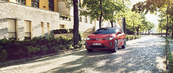 2022 Volkswagen ID.4 GTX wide wallpaper thumbnail.