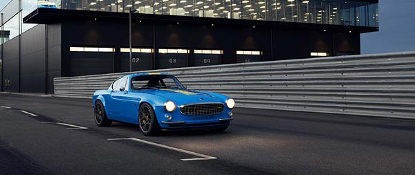 2020 Volvo P1800 Cyan wide wallpaper thumbnail.