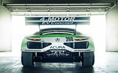 2016 Acura NSX EV Concept wallpaper thumbnail.
