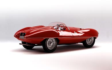 1952 Alfa Romeo Disco Volante Touring wallpaper thumbnail.