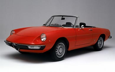 1966 Alfa Romeo Spider wallpaper thumbnail.