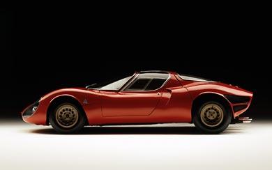 1967 Alfa Romeo Tipo 33 Stradale Prototipo wallpaper thumbnail.