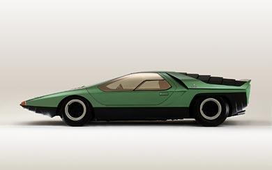 1968 Alfa Romeo Carabo Concept wallpaper thumbnail.