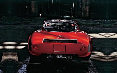 1968 Alfa Romeo Tipo 33 Stradale wallpaper thumbnail.