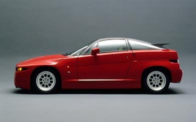 1989 Alfa Romeo SZ wallpaper thumbnail.