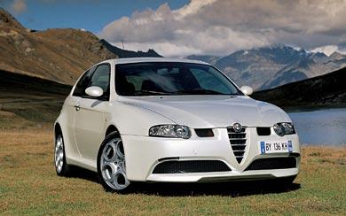 2002 Alfa Romeo 147 GTA wallpaper thumbnail.
