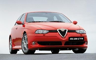 2002 Alfa Romeo 156 GTA wallpaper thumbnail.
