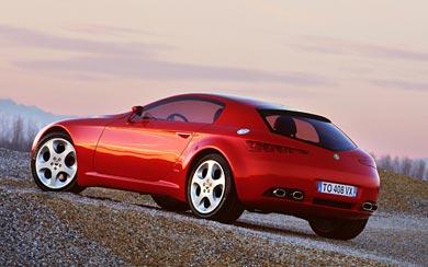 2002 Alfa Romeo Brera Concept wallpaper thumbnail.