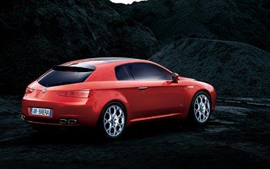 2005 Alfa Romeo Brera wallpaper thumbnail.