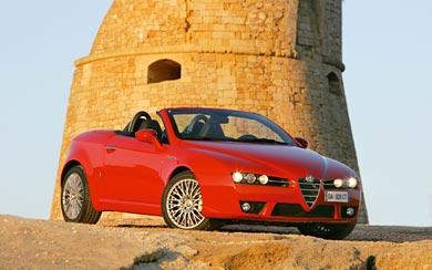 2006 Alfa Romeo Spider wallpaper thumbnail.