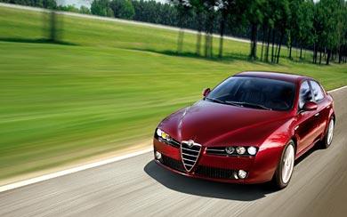 2007 Alfa Romeo 159 wallpaper thumbnail.