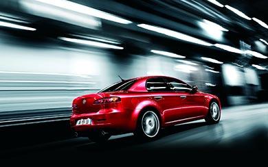 2009 Alfa Romeo 159 wallpaper thumbnail.